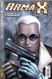 Cover for Arma X (Panini Brasil, 2003 series) #8