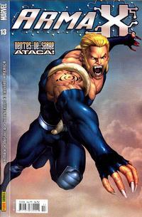Cover Thumbnail for Arma X (Panini Brasil, 2003 series) #13