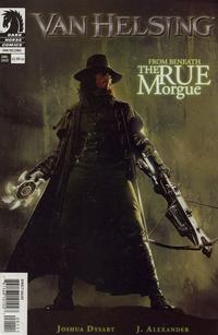 Cover Thumbnail for Van Helsing: From Beneath the Rue Morgue (Dark Horse, 2004 series)