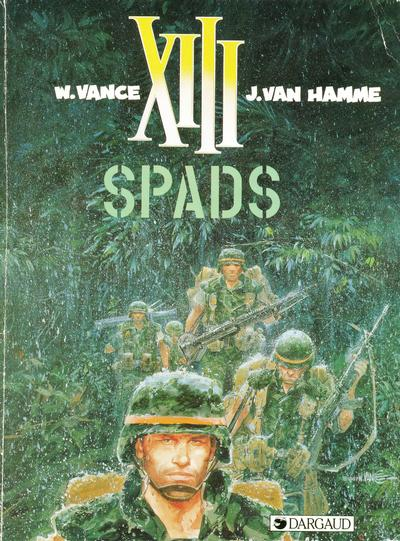 Cover for XIII (Dargaud Benelux, 1984 series) #4 - SPADS