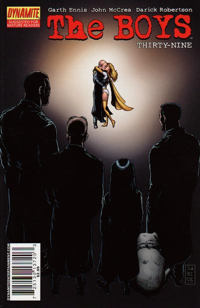 Cover for The Boys (Dynamite Entertainment, 2007 series) #39