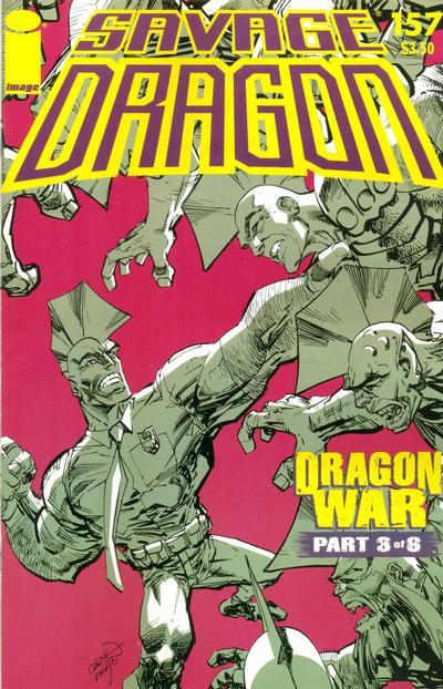 Cover for Savage Dragon (Image, 1993 series) #157