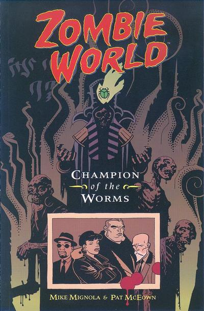 Cover for ZombieWorld: Champion of the Worms (Dark Horse, 1998 series)