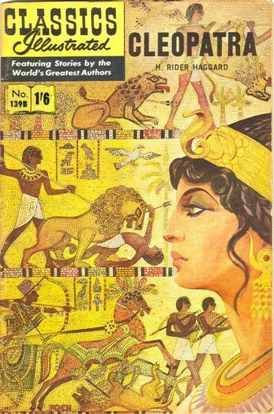 Cover for Classics Illustrated (Thorpe & Porter, 1951 series) #139B [HRN 139B] - Cleopatra