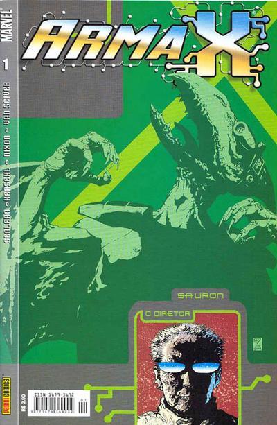 Cover for Arma X (Panini Brasil, 2003 series) #1