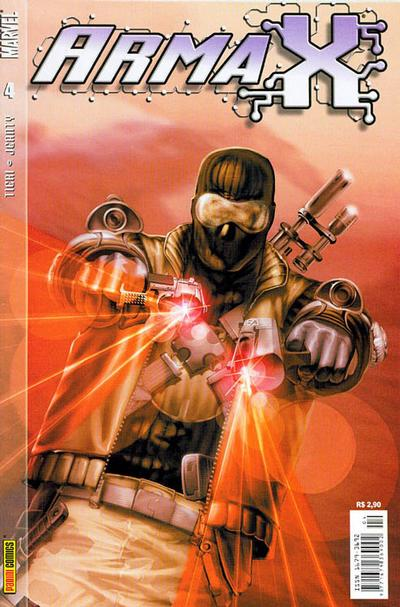 Cover for Arma X (Panini Brasil, 2003 series) #4