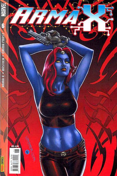 Cover for Arma X (Panini Brasil, 2003 series) #6