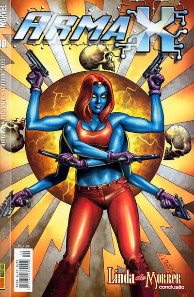 Cover for Arma X (Panini Brasil, 2003 series) #10