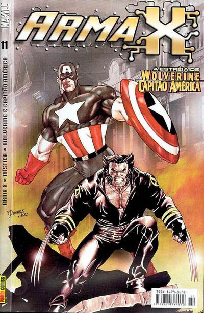 Cover for Arma X (Panini Brasil, 2003 series) #11
