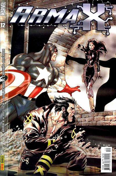 Cover for Arma X (Panini Brasil, 2003 series) #12