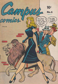 Cover Thumbnail for Campus Comics (Bell Features, 1950 series) #6