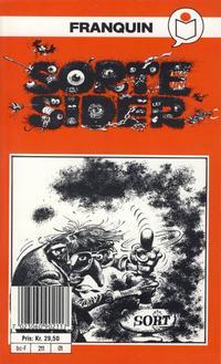 Cover Thumbnail for Franquin's Sorte sider [Semic Tegneseriepocket] (Semic, 1990 series)