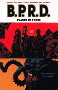 Cover Thumbnail for B.P.R.D. (Dark Horse, 2003 series) #3 - Plague of Frogs