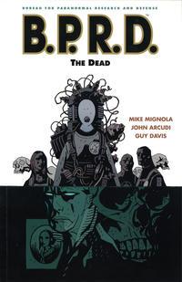 Cover Thumbnail for B.P.R.D. (Dark Horse, 2003 series) #4 - The Dead