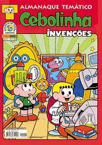 Cover Thumbnail for Almanaque Temático (Panini Brasil, 2007 series) #2 - Cebolinha:  Invenções