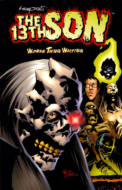 Cover for The 13th Son: Worse Thing Waiting (Dark Horse, 2007 series)