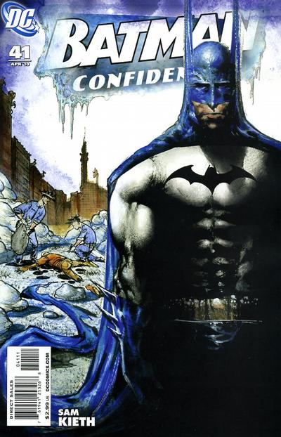 Cover for Batman Confidential (DC, 2007 series) #41