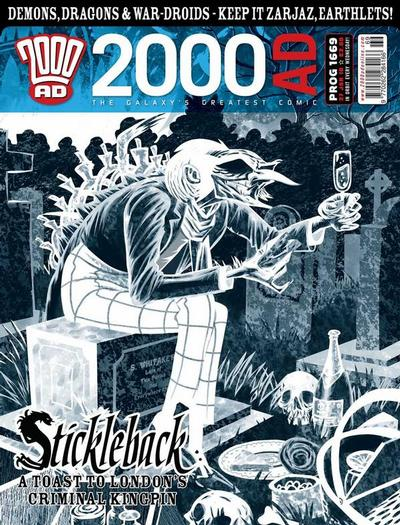Cover for 2000 AD (Rebellion, 2001 series) #1669
