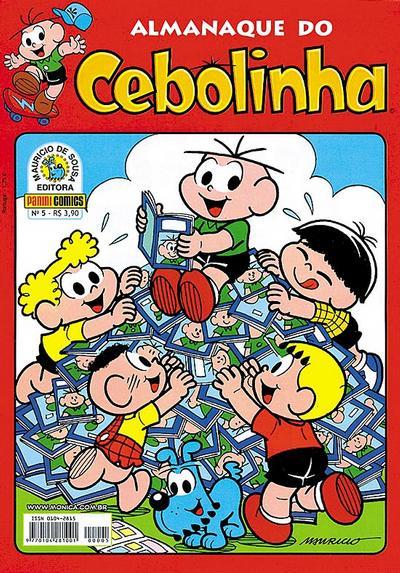 Cover for Almanaque do Cebolinha (Panini Brasil, 2007 series) #5