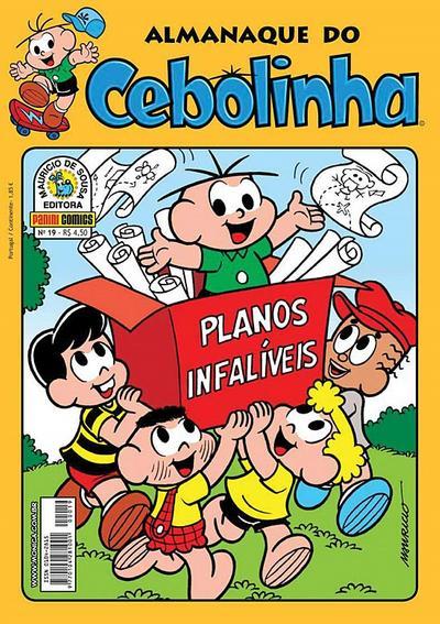 Cover for Almanaque do Cebolinha (Panini Brasil, 2007 series) #19