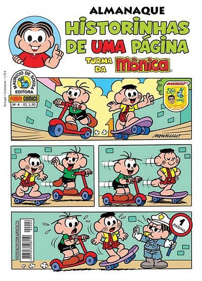 Cover for Almanaque Historinhas de Uma Página (Panini Brasil, 2007 series) #4