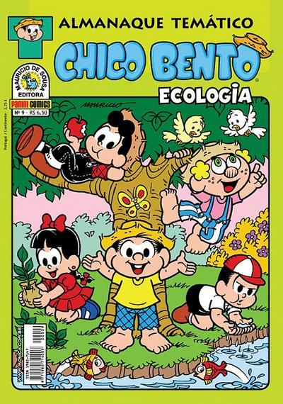 Cover for Almanaque Temático (Panini Brasil, 2007 series) #9 - Chico Bento: Ecologia