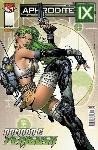 Cover for Aphrodite IX (Panini Brasil, 2007 series)