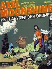 Cover Thumbnail for Axel Moonshine (Dargaud Benelux, 1982 series) #2 - Het labyrint der dromen