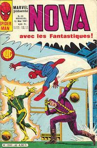 Cover Thumbnail for Nova (Editions Lug, 1978 series) #40