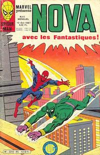 Cover Thumbnail for Nova (Editions Lug, 1978 series) #45