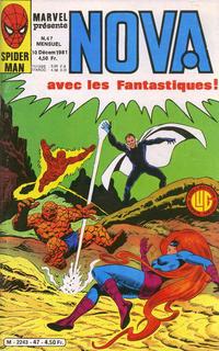 Cover Thumbnail for Nova (Editions Lug, 1978 series) #47