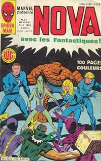 Cover Thumbnail for Nova (Editions Lug, 1978 series) #75