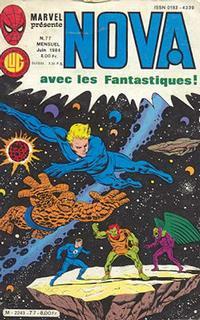 Cover Thumbnail for Nova (Editions Lug, 1978 series) #77