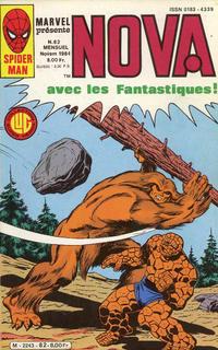 Cover Thumbnail for Nova (Editions Lug, 1978 series) #82