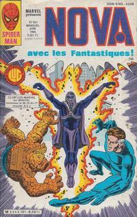 Cover for Nova (Editions Lug, 1978 series) #101
