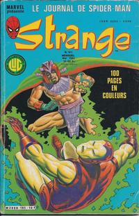 Cover Thumbnail for Strange (Editions Lug, 1970 series) #185