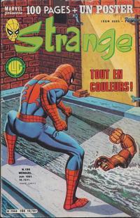 Cover Thumbnail for Strange (Editions Lug, 1970 series) #186