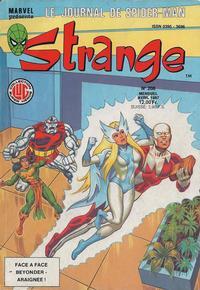 Cover Thumbnail for Strange (Editions Lug, 1970 series) #208