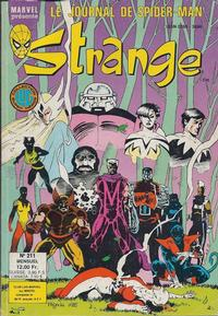 Cover Thumbnail for Strange (Editions Lug, 1970 series) #211