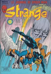 Cover Thumbnail for Strange (Editions Lug, 1970 series) #219