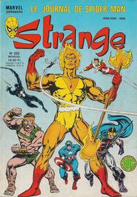 Cover Thumbnail for Strange (Editions Lug, 1970 series) #222