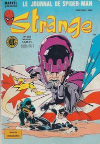 Cover Thumbnail for Strange (Editions Lug, 1970 series) #223