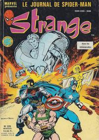 Cover Thumbnail for Strange (Editions Lug, 1970 series) #225