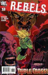 Cover Thumbnail for R.E.B.E.L.S. (DC, 2009 series) #13