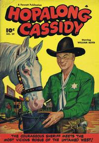 Cover Thumbnail for Hopalong Cassidy (Export Publishing, 1949 series) #29