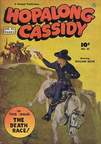 Cover Thumbnail for Hopalong Cassidy (Export Publishing, 1949 series) #33