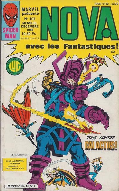 Cover for Nova (Editions Lug, 1978 series) #107