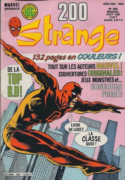 Cover for Strange (Editions Lug, 1970 series) #200
