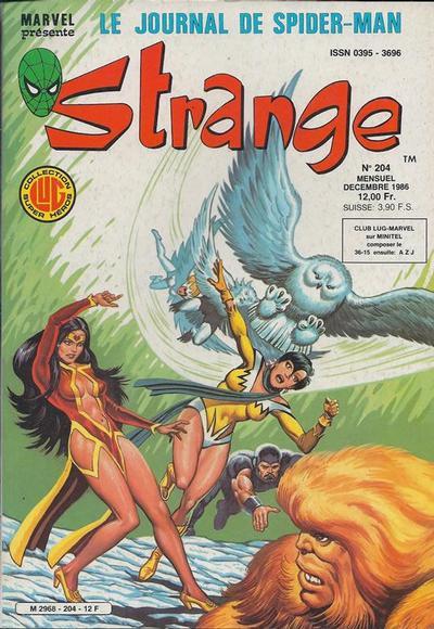 Cover for Strange (Editions Lug, 1970 series) #204