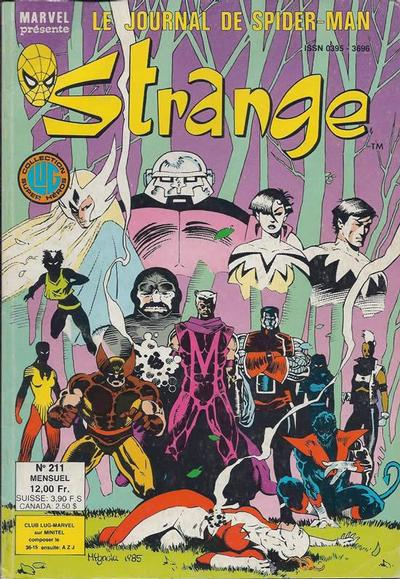 Cover for Strange (Editions Lug, 1970 series) #211
